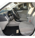 toyota corolla 2013 white sedan l gasoline 4 cylinders front wheel drive automatic 77469