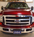 ford f 350 super duty 2006 red lariat 8 cylinders automatic 75219