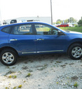 nissan rogue 2011 blue s 4 cylinders automatic 75606