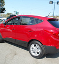 hyundai tucson 2013 garnet red gls gasoline 4 cylinders front wheel drive automatic 94010