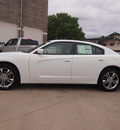 dodge charger 2013 white sedan sxt gasoline 6 cylinders all whee drive automatic 80301