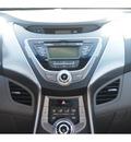 hyundai elantra 2013 silver sedan gls gasoline 4 cylinders front wheel drive automatic 77074