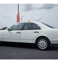 mercedes benz e class 1998 white sedan e320 gasoline 6 cylinders rear wheel drive automatic 76543
