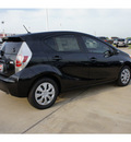 toyota prius c 2012 black hatchback two hybrid 4 cylinders front wheel drive automatic 77469