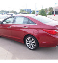 hyundai sonata 2013 dk  red sedan se 4 cylinders automatic 77074