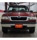 mazda b series pickup 1999 red pickup truck b2500 se gasoline 4 cylinders rear wheel drive 6 speed manual 79110