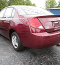 saturn ion 2003 dk  red sedan 1 gasoline 4 cylinders dohc front wheel drive automatic 45840