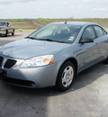 pontiac g6 2008 silver sedan value leader gasoline 4 cylinders front wheel drive automatic 75110
