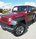 jeep wrangler 2013 red suv unlimited rubicon gasoline 6 cylinders 4 wheel drive automatic 81212
