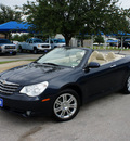 chrysler sebring 2008 blue limited gasoline 6 cylinders front wheel drive shiftable automatic 76206