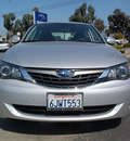 subaru impreza 2009 silver sedan 2 5i gasoline 4 cylinders all whee drive automatic 94063