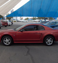 ford mustang 2002 red coupe gasoline 6 cylinders rear wheel drive automatic 79936
