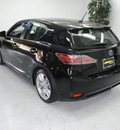 lexus ct200h premium 2011 black hatchback hybrid 4 cylinders front wheel drive automatic 91731