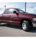 dodge ram 1500 2002 burgundy pickup truck gasoline 8 cylinders rear wheel drive 6 speed manual 78654
