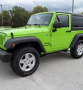jeep wrangler 2013 green suv sport 6 cylinders automatic 45840
