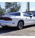 pontiac firebird 1994 white hatchback gasoline v6 rear wheel drive automatic 79065