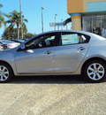 mazda mazda3i 2013 liquid silver metal sedan sport gasoline 4 cylinders front wheel drive automatic 32901