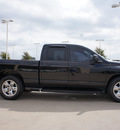 dodge ram 1500 2003 black pickup truck slt 8 cylinders automatic with overdrive 76049