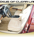 honda accord 2008 dk  red sedan ex gasoline 4 cylinders front wheel drive automatic 77546