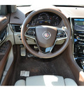 cadillac ats 2013 red sedan 3 6l premium 6 cylinders automatic 76903