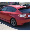 subaru impreza wrx 2010 red wagon 4 cylinders 5 speed manual 78552