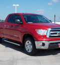 toyota tundra 2012 red grade 8 cylinders automatic with overdrive 77469