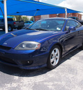 hyundai tiburon 2006 blue coupe gs 4 cylinders automatic 76234