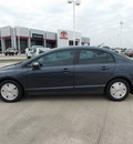 honda civic 2007 silver sedan hybrid hybrid 4 cylinders front wheel drive automatic with overdrive 77469