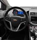 chevrolet sonic 2013 black sedan gasoline 4 cylinders front wheel drive 6 spd auto lpo,cargo net 77090
