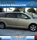 toyota sienna 2011 tan van le gasoline 6 cylinders front wheel drive automatic 32901