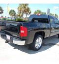 chevrolet silverado 1500 2009 black pickup truck lt 8 cylinders automatic with overdrive 77642