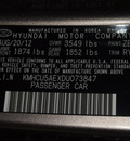 hyundai accent 2013 brown hatchback se gasoline 4 cylinders front wheel drive automatic 75150