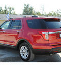 ford explorer 2011 red suv xlt gasoline 6 cylinders 2 wheel drive automatic 77575