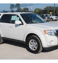 ford escape 2012 white suv limited flex fuel 6 cylinders front wheel drive automatic 77575