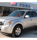 ford escape 2012 silver suv limited flex fuel 6 cylinders front wheel drive automatic 77575
