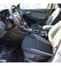 ford focus 2013 silver sedan se flex fuel 4 cylinders front wheel drive manual 77575