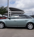 ford five hundred 2007 dk  gray sedan sel gasoline 6 cylinders front wheel drive automatic 76049