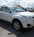 chevrolet equinox 2013 silver lt 4 cylinders automatic 78064
