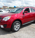 chevrolet equinox 2013 red lt 4 cylinders automatic 78064