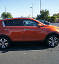 kia sportage 2013 techno orange ex gasoline 4 cylinders all whee drive automatic 19153