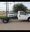 ford f 350 2012 white xl 8 cylinders automatic 75041