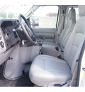 ford e series wagon 2012 white van e 350 sd xl 8 cylinders automatic 77074