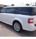 ford flex 2013 white sel 6 cylinders automatic 77074