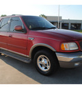 ford expedition 2000 red suv eddie bauer gasoline v8 rear wheel drive automatic with overdrive 77539