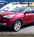 ford escape 2013 red suv se gasoline 4 cylinders front wheel drive automatic 32401