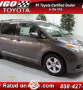 toyota sienna 2013 van le 8 passenger gasoline 6 cylinders front wheel drive not specified 91731