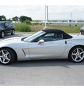 chevrolet corvette 2005 silver gasoline 8 cylinders rear wheel drive automatic 78626