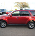 ford escape 2008 dk  red suv limited gasoline 6 cylinders front wheel drive automatic 78539