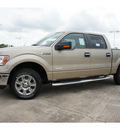 ford f 150 2012 beige xlt gasoline 6 cylinders 2 wheel drive automatic 77531