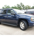 chevrolet trailblazer 2003 dk  blue suv ext ls gasoline 6 cylinders rear wheel drive automatic 77515